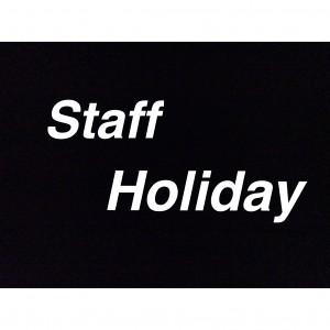staff holiday